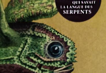 Couverture du livre représentant une salamandre.